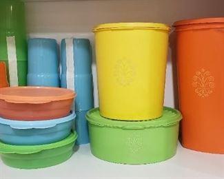 vintage Tupperware