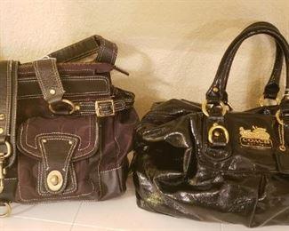 Coach purses, designer purses