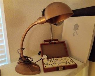 Gooseneck vintage lamp