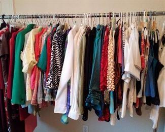 ladies clothing sizes medium thru XL
