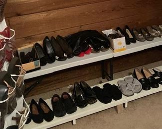 Assorted Women's Shoes, Yellow Box, Coach & Many Other Designer Names