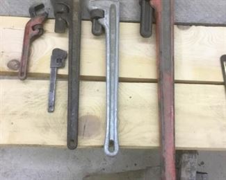 Miscellaneous Adjustable Wrenches