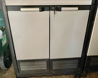 Stronghold Metal front work Cabinet $50