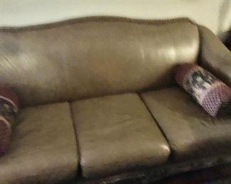 Ashley Leather Sofa