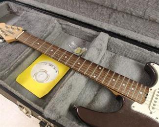 Peavey electric guitar w/ case