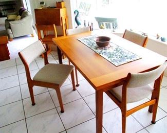 Mid Century Danish Teak Table 1960 s. Acquired from the old Danish Teak store in Indialantic