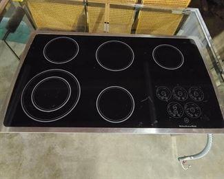 KitchenAid Counter Top Glass Stove