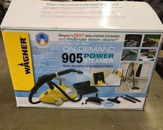Wagner 905 On-demand Power Steamer & Cleaner 45 Minutes Of Steam On 1 Fill
