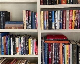 Novels, cookbooks, and self help books.