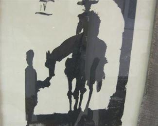 Picasso Toros print