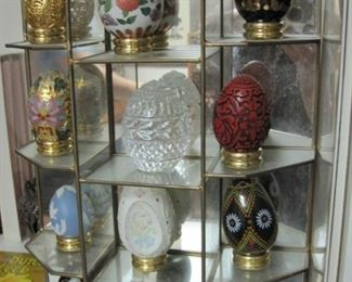 Franklin Mint Egg collection