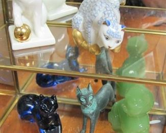 Franklin Mint cat collection
