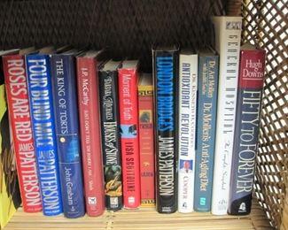 Books, cookbooks, fiction & nonfiction