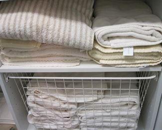 Lots of linens