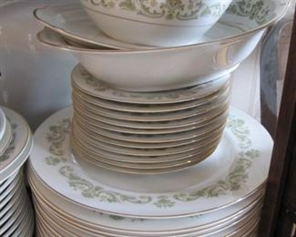 Style House Contessa  service for 12 with serving pieces