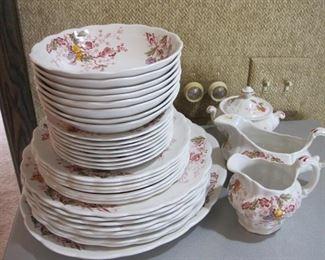 Ridgway English Garden dish set