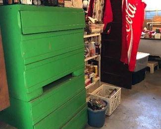 vintage cedar drawers - pair