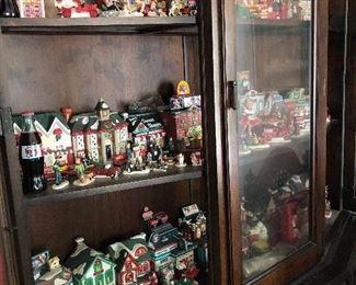 Coca Cola Christmas village buildings & figures - Town Square, Dept. 56, Heritage, Lemax, Hawthorne Village, etc