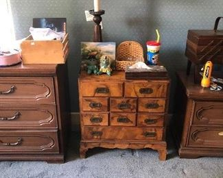 vintage chests of drawers