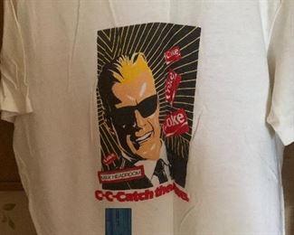 vintage Max Headroom Coke tshirt