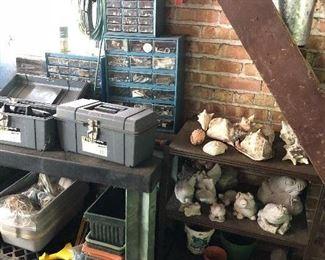 Tool boxes, shells