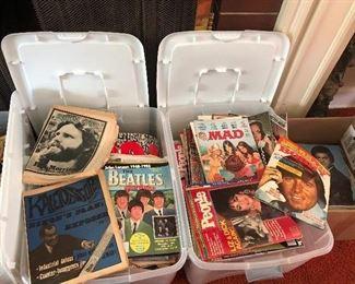 1960s, 70s, 80s  magazines & newspapers