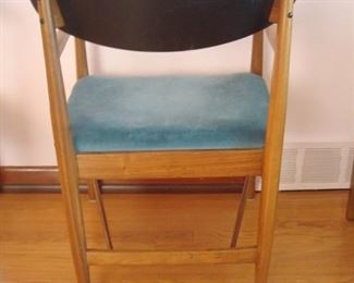 Dining Area: This is a back view of the Mid-Century Modern arm chair.