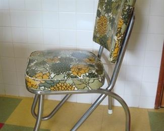 Kitchen:  This chair frame is very unusual.
