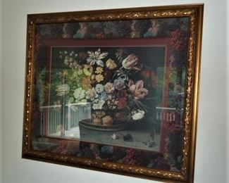 Decorator Print, Floral Still life: $25
