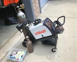 Hobart 175 MIG Welder and accessories