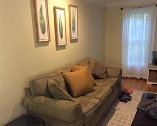 Set of (Large) Couch  $175.00 Good Condition                                                                Contact Mary: 401-996-0612  or  macrowshaw@cox.net Anne: 401-935-2490