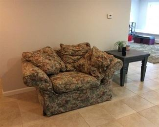 Loveseat with Matching Ottoman $50.00                 Contact Mary: 401-996-0612  or  macrowshaw@cox.net Anne: 401-935-2490