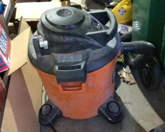 Shop Vac  $30.00                                                                       Contact Mary: 401-996-0612  or  macrowshaw@cox.net Anne: 401-935-2490