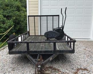 Trailer $1,500.00    12 Feet x 6 Feet  Holds up to 2 tons  Contact Mary: 401-996-0612  or  macrowshaw@cox.net Anne: 401-935-2490