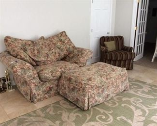 Couch with Ottoman $50.00                                                Contact Mary: 401-996-0612 or macrowshaw@cox.net Anne: 401-935-2490