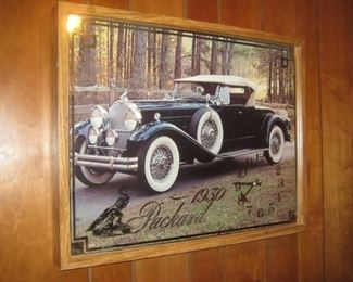 1930 Packard wall decor