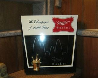 Miller High Life lighted sign