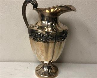 https://www.ebay.com/itm/124243578533PR103: Maciel Sterling Made in Mexico .925 Water Pitcher