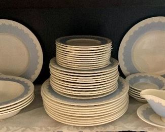 The set with serving pieces