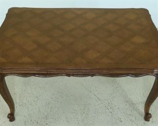 """French slide table with two hidden leaves  40"""" x 60 """" closed"""