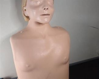 Laerdal Anne Face CPR Manikin UNSANITIZED With Carrying Case