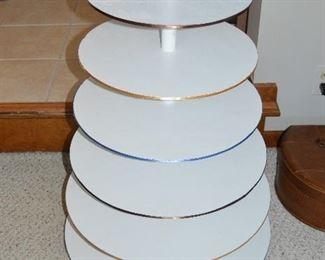 Homemade Tiered Cupcake Display Stand