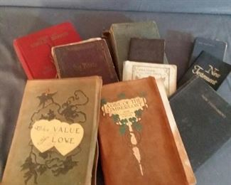 Antique Books and Bibles