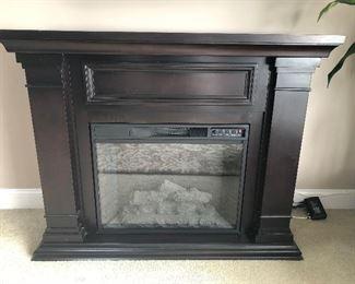 $199 Electric Fireplace (no remote) Measurements: 52 x 14 x 41