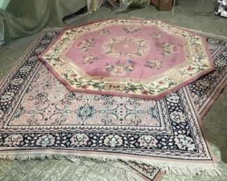 3 Area Rugs by Royal Palace