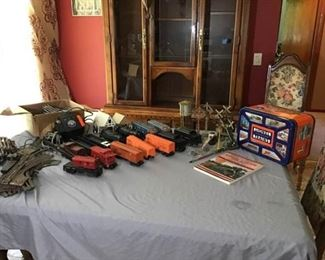 Lionel Trains Engines Cars Track and More