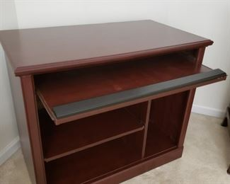 """Computer desk. 35.5"""" wide x 30"""" high x 19.5"""" deep"""