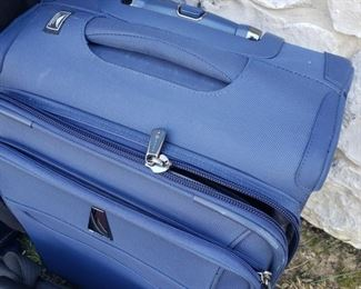 """Blue Roll-on Delsey Lightweight suitcase.14.5"""" x 10x x 20"""""""