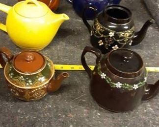 Lot of Tea Pots