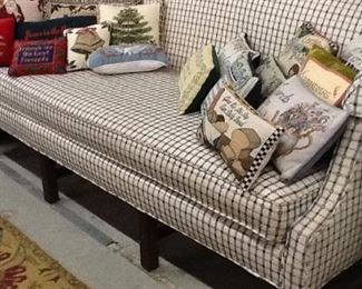 Checkered Cloth Couch